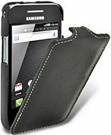 Кожаный чехол для Samsung S5830 Galaxy Ace Melkco