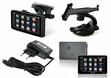 GPS навигатор OODO M520V HD