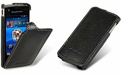 Чехол-книжка для Sony Ericsson XPERIA Ray Melkco Black