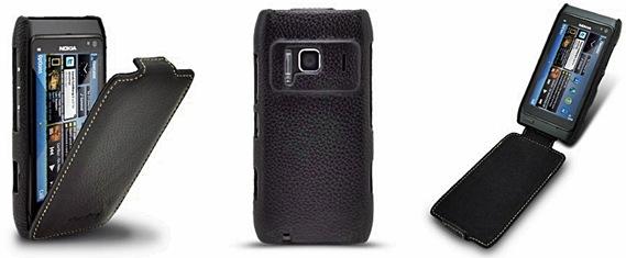 Чехол для Nokia N8 Melkco кожаный