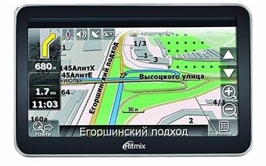 GPS навигатор Ritmix RGP-586TV