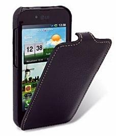 чехол-обложка для LG P970 Optimus Black,
