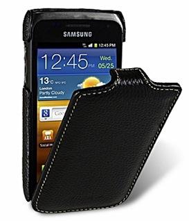 Кожаный чехол Melkco для Samsung i8150 galaxy w