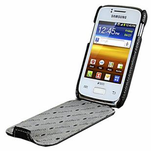 Кожаный чехол для Samsung S6102 Galaxy Y Duos