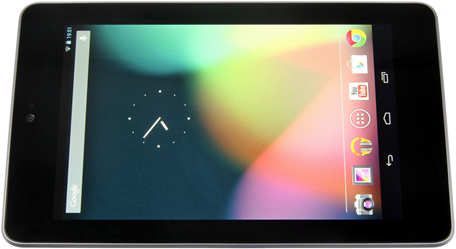 Внешний вид Asus Nexus 7