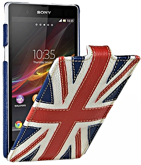 Чехол для Sony Xperia Z Melkco Craft Edition купить